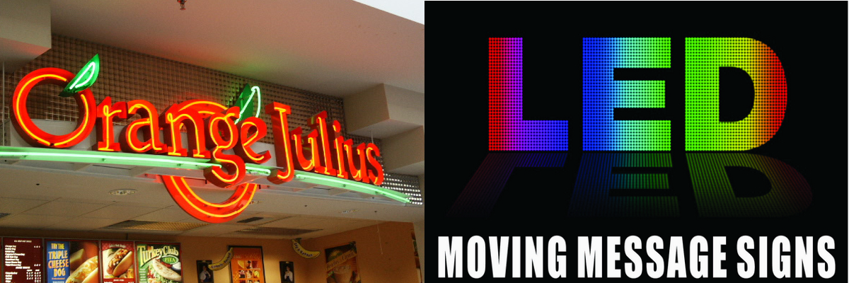 Neon signs, LED Signs, LED Programmable Window Dispaly, LED Sign Repair