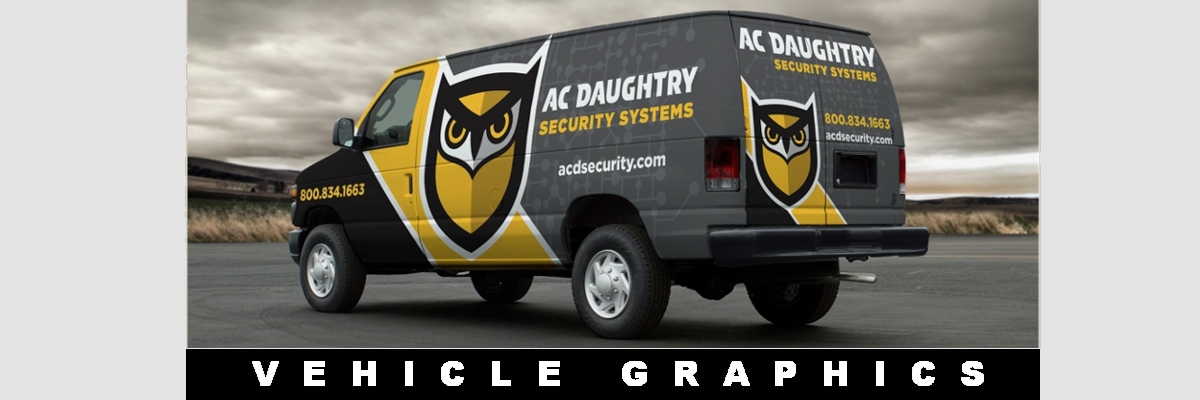 Vehicle Graphics, Large Format Color Printing, Hoarding Signs,