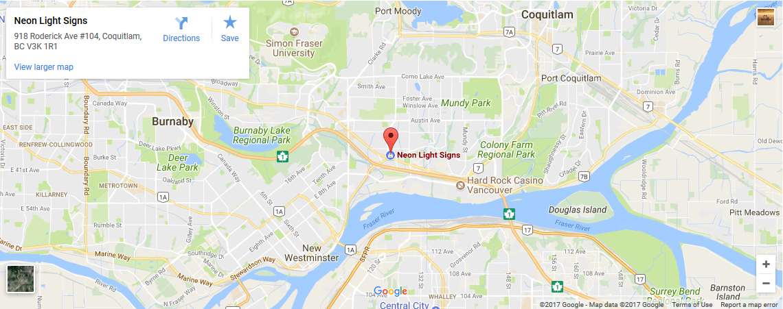 Vancouver Sign Expert - Us call sign map